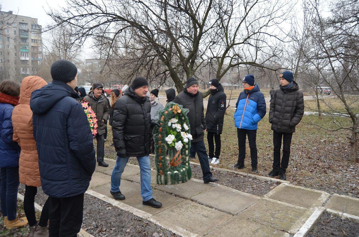 В Брянке прошли мероприятия, приуроченные к Дню чествования участников ликвидации последствий аварии на ЧАЭС