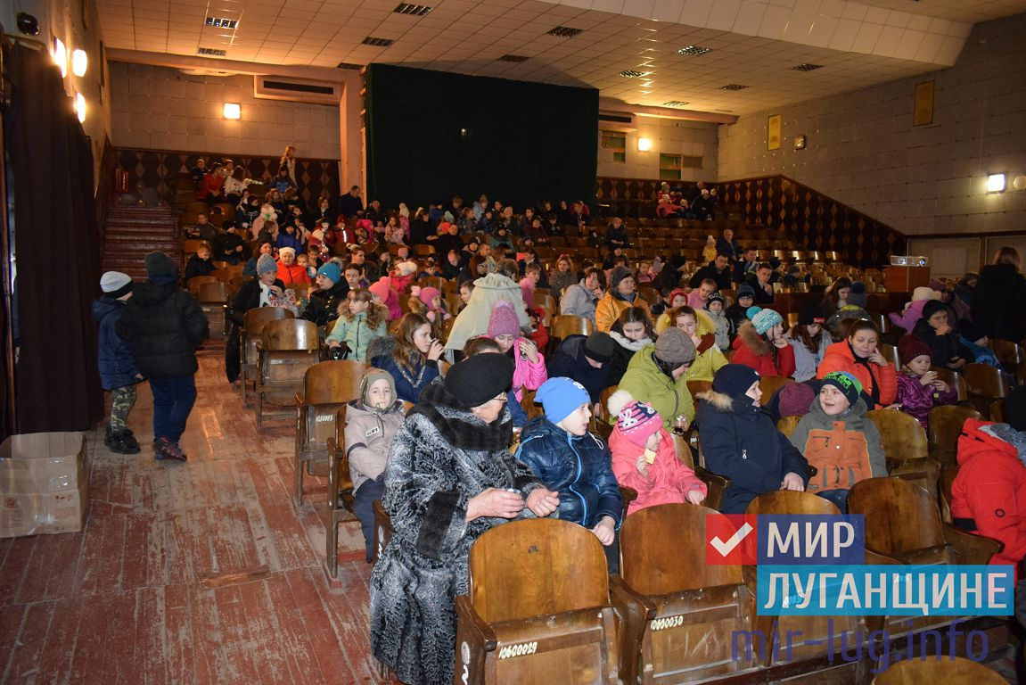 Дети в Первомайске посетили бесплатный показ мультфильма 2