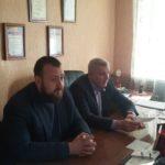 Иван Санаев и Владимир Шавлай встретились с представителями трудового коллектива в Краснодоне