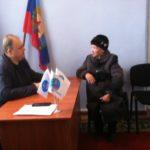 Депутат Народного Совета ЛНР Сергей Диденко провел прием граждан в Краснодоне