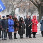 В Антраците провели митинг «Герои нашего времени»
