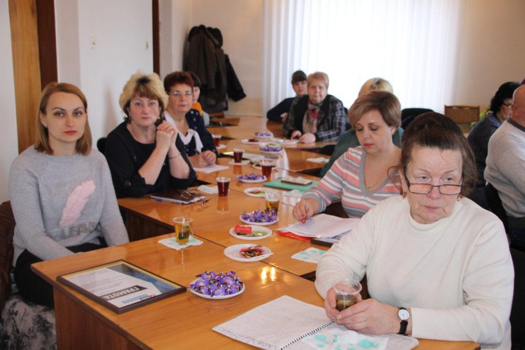Круглый стол с членами теротделения и руководителями первичных отделений провели в Антраците 1