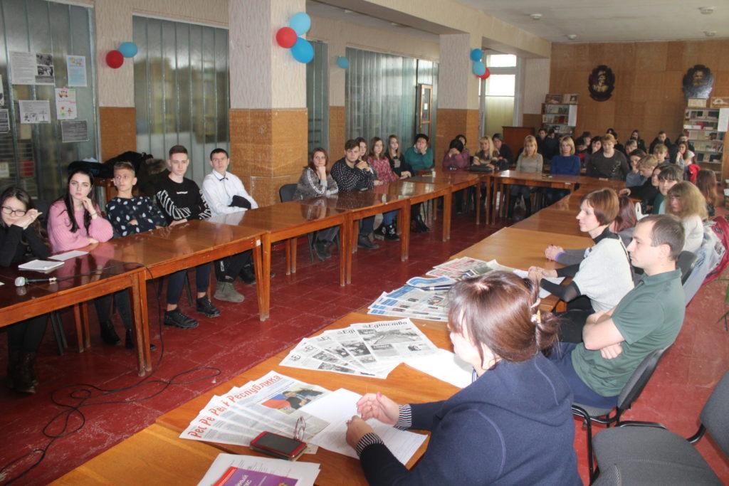 Круглый стол «Я имею право!» прошел в Славяносербске 2