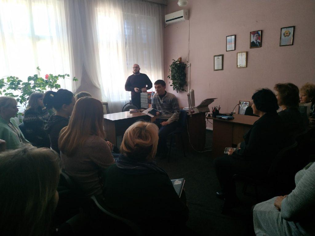 Депутат Народного Совета ЛНР Александра Ермоленко провел прием граждан в Перевальске 3