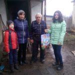 Акция «Новогодняя открытка ветерану» прошла в Антраците