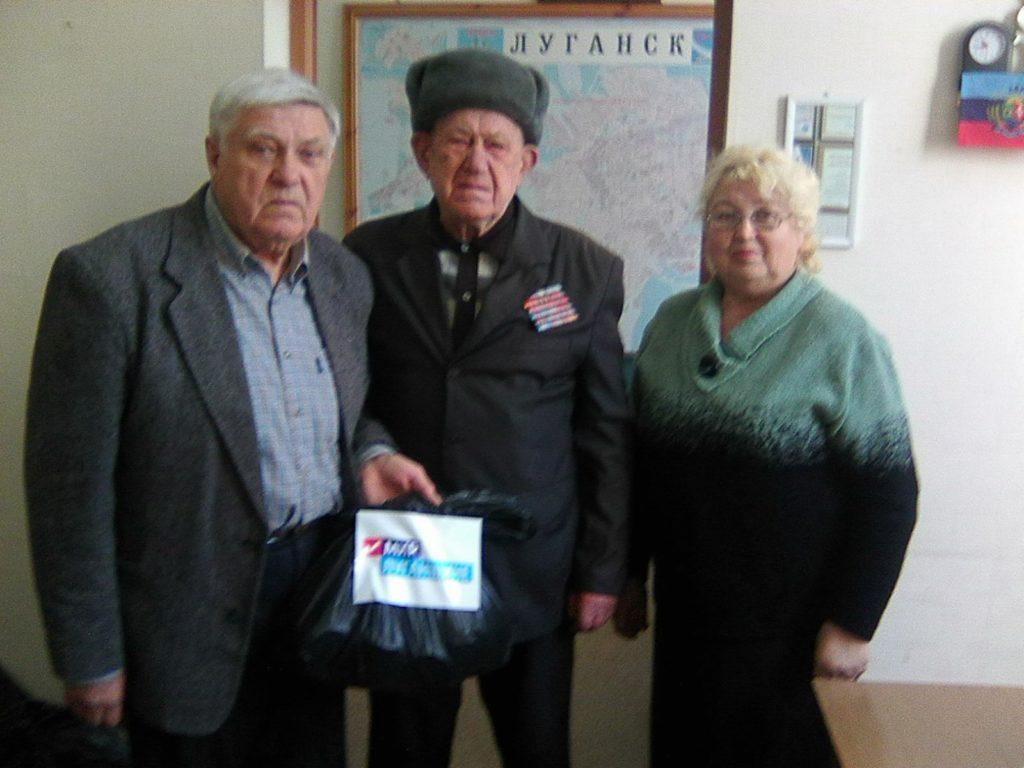 Акция «Как живешь, ветеран» продолжается – 176 ветеранов получили подарки в Луганске 1