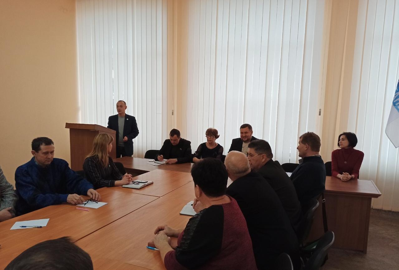 Подведение итогов работы теротделения ОД «Мир Луганщине» состоялось в Лутугино