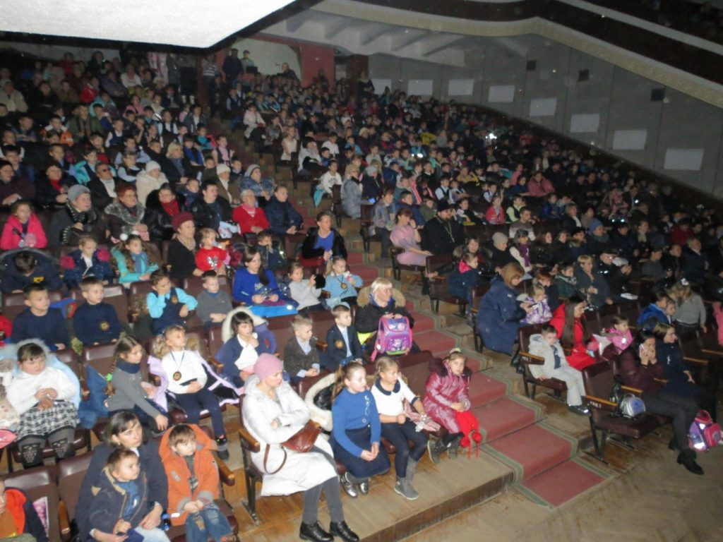 В Брянке состоялось представление в День Святого Николая 2