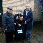 Активисты проектов «Молодая гвардия» и «Забота о ветеранах» посетили участников боевых действий