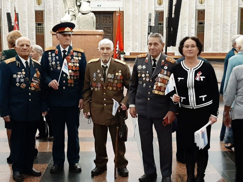 Ветераны из ЛНР побывали на Балу Победителей в Москве 4