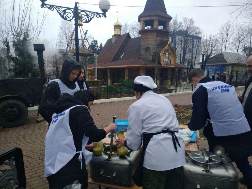 Активисты проекта «Дружина» провели акцию «Делай добро дружно» ко Дню святого Николая 1