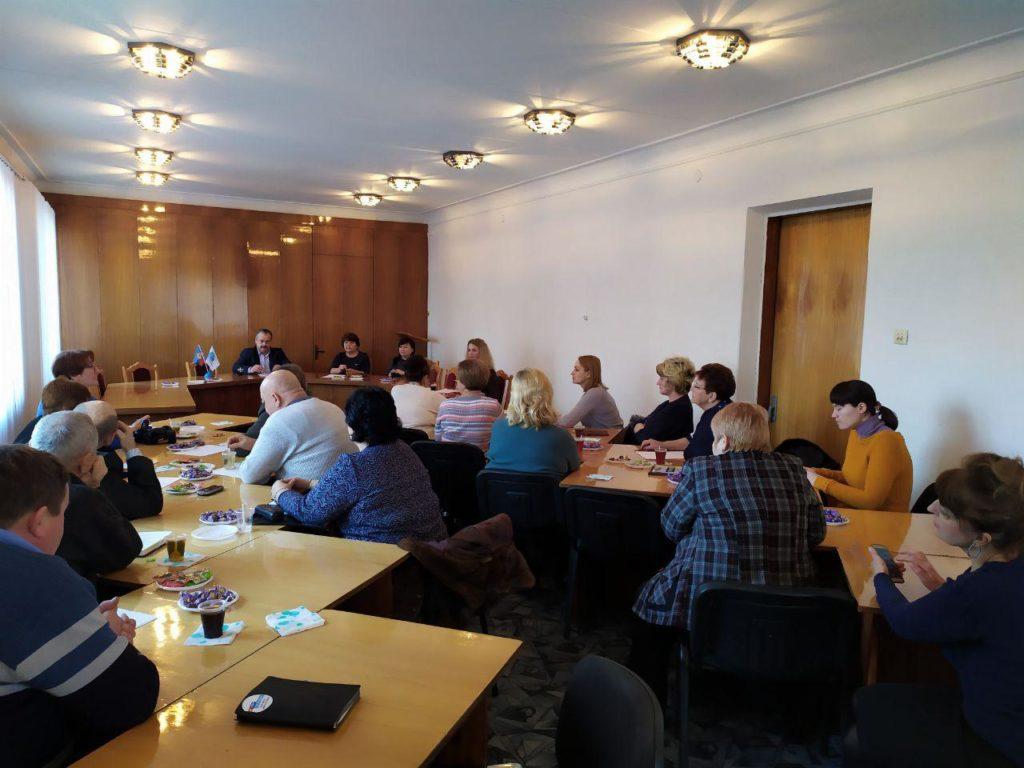 Круглый стол с членами теротделения и руководителями первичных отделений провели в Антраците 3
