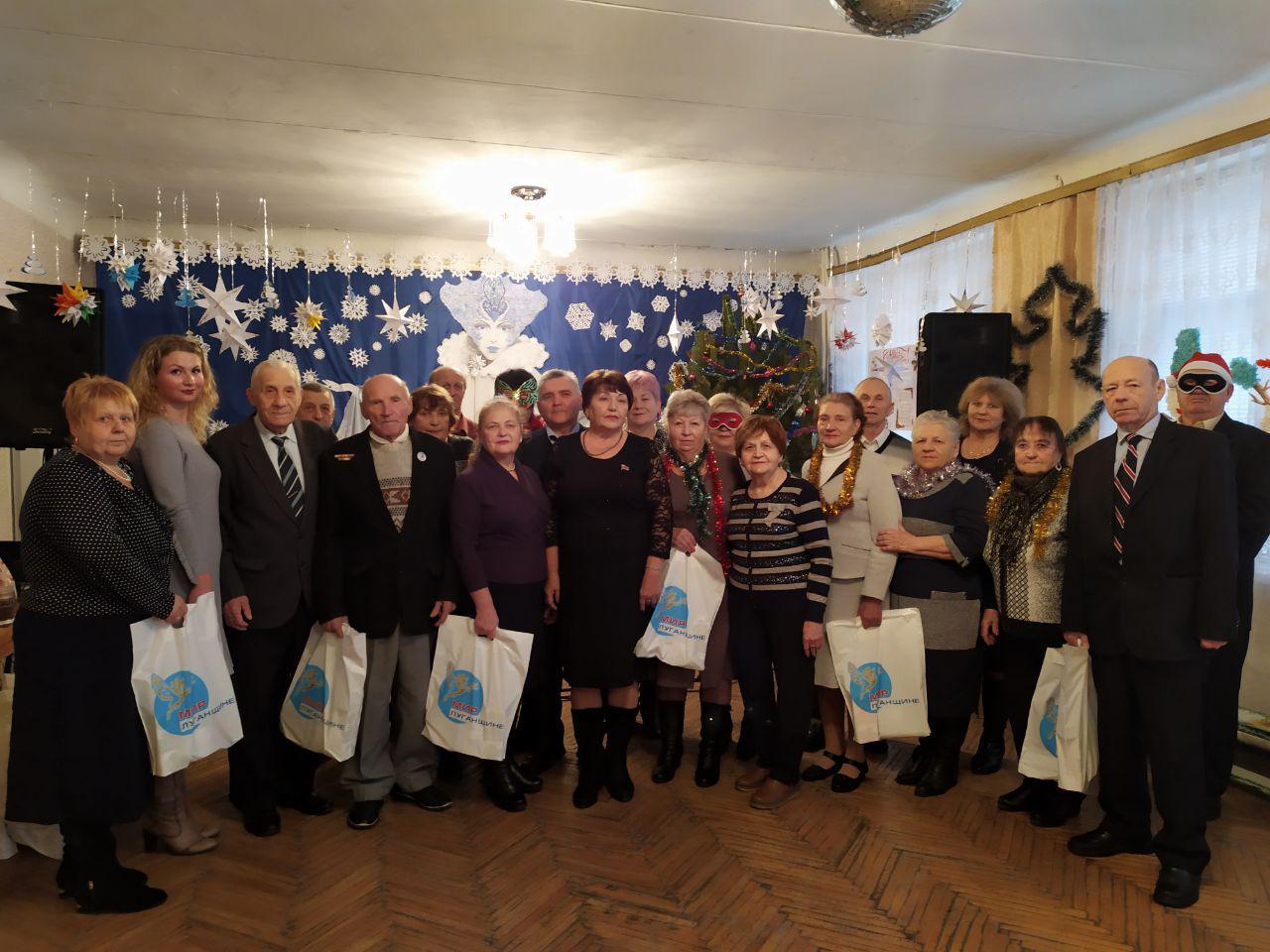 В Антраците состоялась встреча с активистами проекта «Забота о ветеранах»