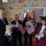 В поселке Краснодон поздравили многодетную семью
