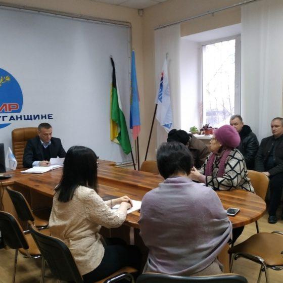 Заместитель министра топлива, энергетики и угольной продукции Сергей Чуприн провел прием граждан в Свердловске