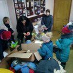 Жителям Перевальского района передали гуманитарную помощь из Курска