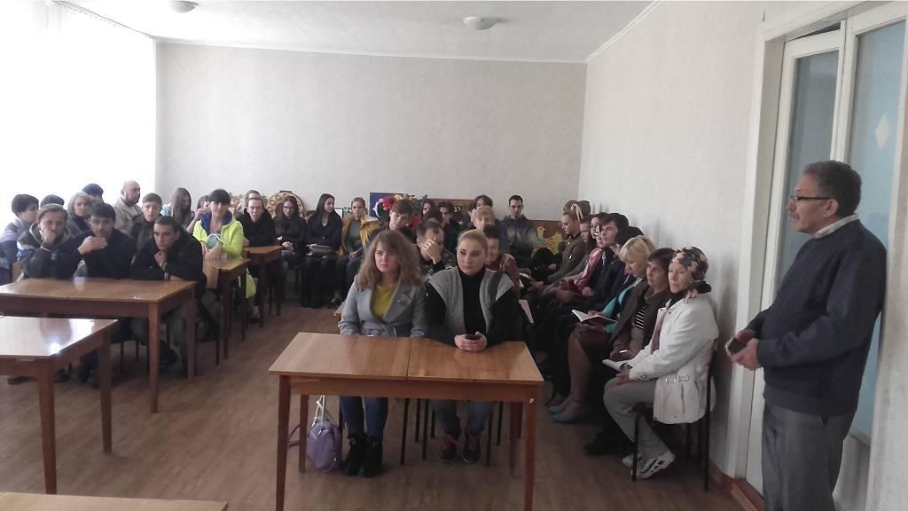 Информ-дайджест «Победоносный Сталинград» состоялся в Славяносербском техникуме