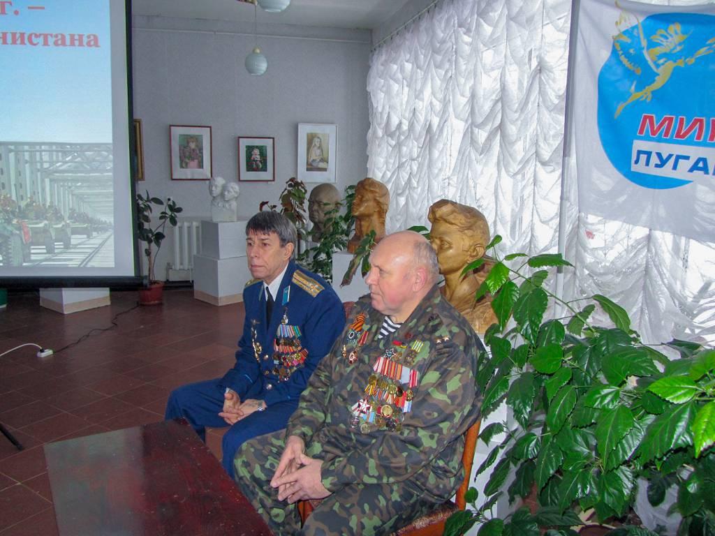 Активисты проекта «Молодая Гвардия» встретились с воинами-интернационалистами в Кировске