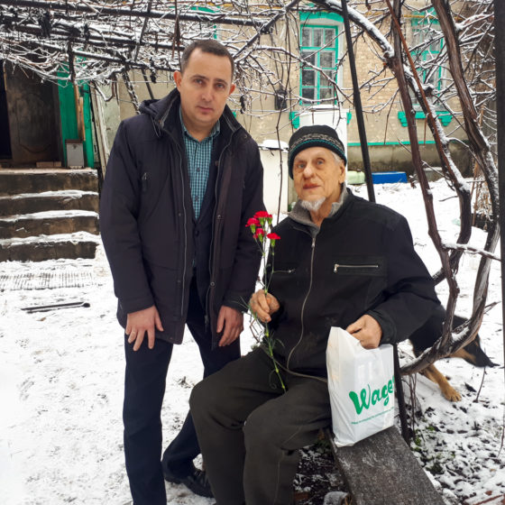 Депутат Народного Совета Андрей Губарев поздравил ветеранов с Днем защитника Отечества 1