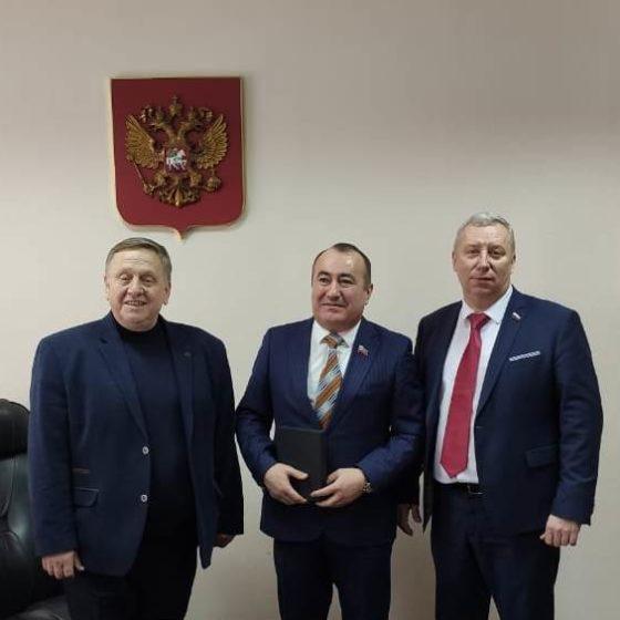 Депутат Народного Совета Павел Пилавов с рабочим визитом посетил Курск Российской Федерации 2