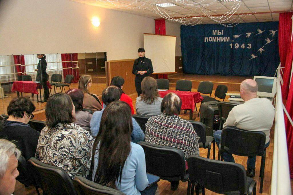 Депутат Народного Совета встретилась с трудовым коллективом школы в Новоанновке 1