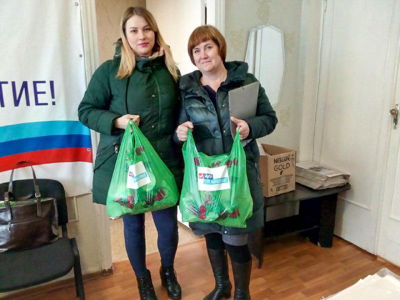 Жители Перевальского района получили помощь от проекта «Волонтер» 1
