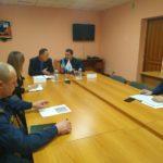 Представитель МЧС ЛНР провёл прием граждан в Перевальске
