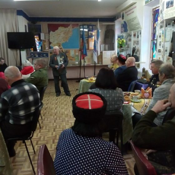 В преддверии Дня защитника Отечества в Перевальске провели встречу с военнослужащими