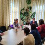 Представители ОД «Мир Луганщине» встретились с жителями поселка городского типа Городище