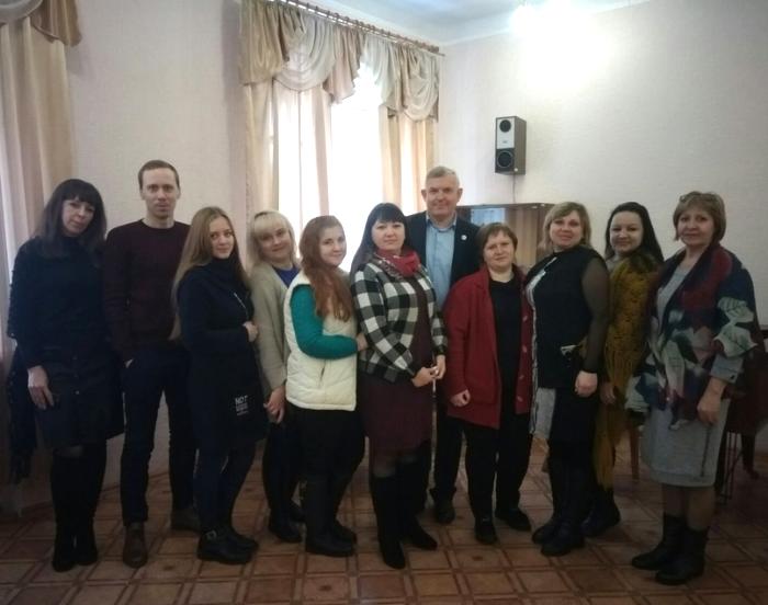 В Краснодоне состоялась встреча с руководителем исполкома теротделения ОД «Мир Луганщине» 1