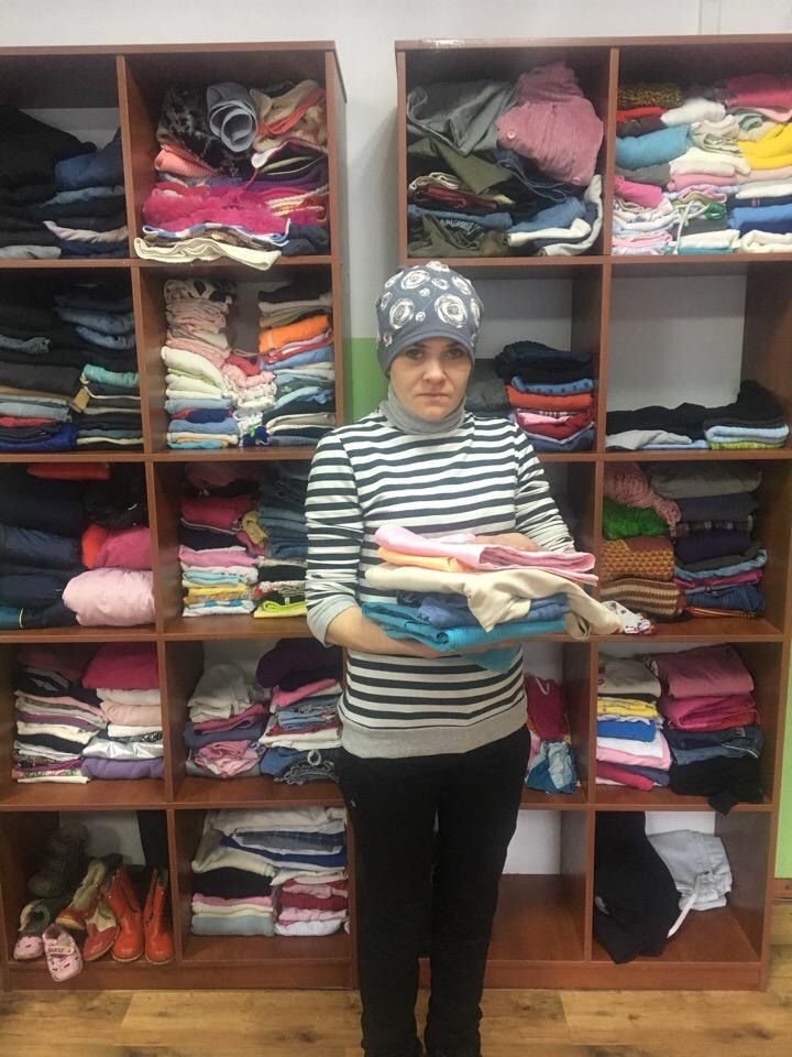 Проект «Волонтер» передал гуманитарную помощь в Перевальск 1
