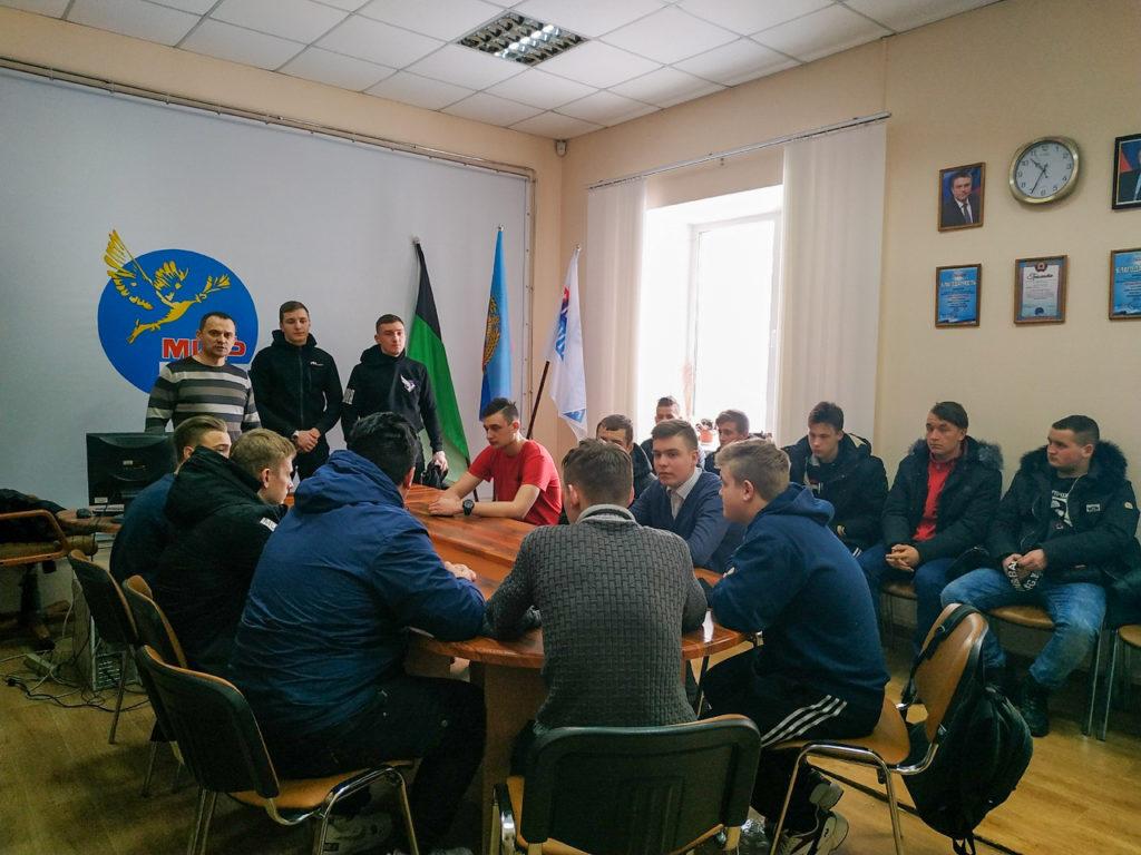 В Свердловске прошла встреча работников исполкома ОД «Мир Луганщине» и актива проекта «Дружина» 1