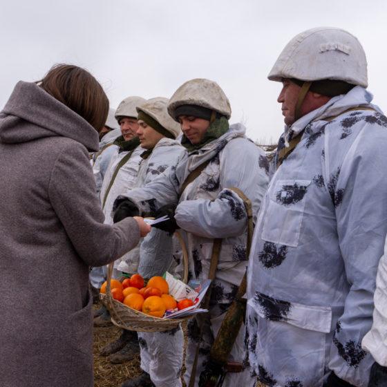 Военнослужащих ЛНР поздравили с Днем защитника Отечества 3