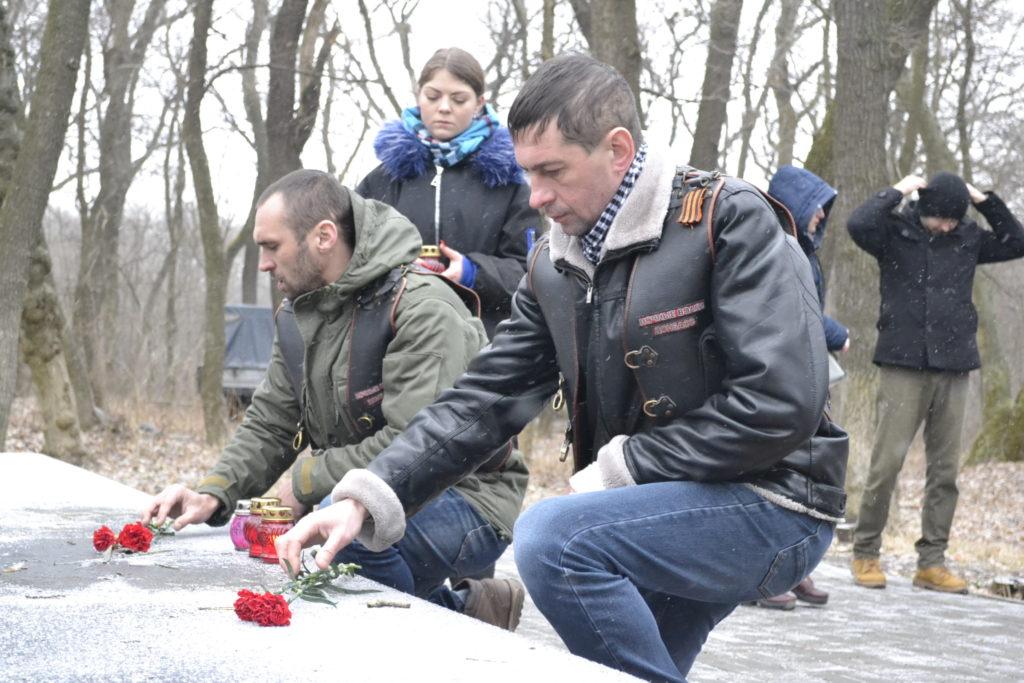 Марш памяти бессмертного подвига молодогвардейцев прошёл в городе Ровеньках