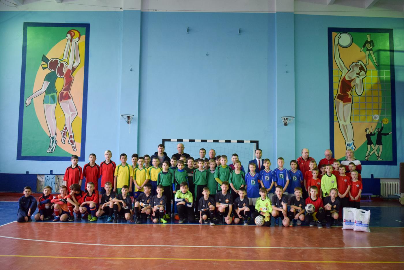 Турнир по мини-футболу среди юношеских команд прошел в Первомайске 2