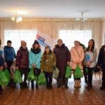 Активисты проекта «Волонтёр» оказали помощь военнослужащим и их семьям в Первомайске