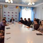 Заместитель министра культуры, спорта и молодёжи ЛНР Роман Олексин провёл приём в Первомайске