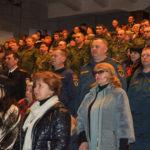 Торжественное мероприятие ко Дню защитника Отечества прошло в Брянке