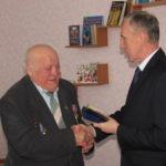 Автор слов гимна Стаханова Виктор Чистяков отметил свой 80-летний юбилей