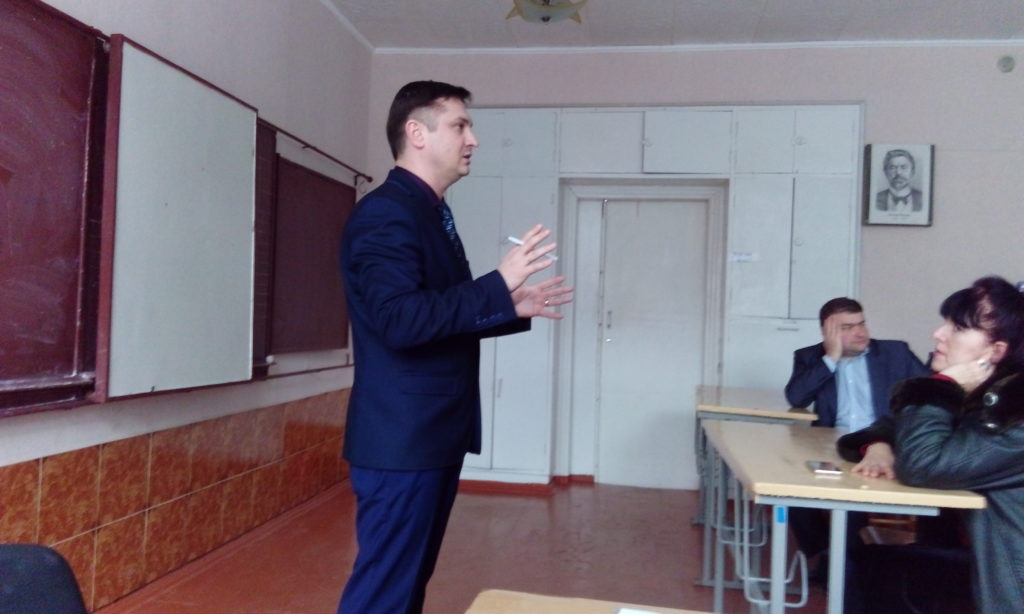 Депутат Народного Совета ЛНР встретился с активистами «Мир Луганщине» в Алчевске 1