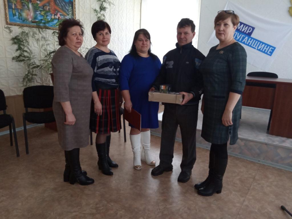 В селе Рафайловка Антрацитовского района состоялась встреча активистов первичного отделения с воинами-интернационалистами 3