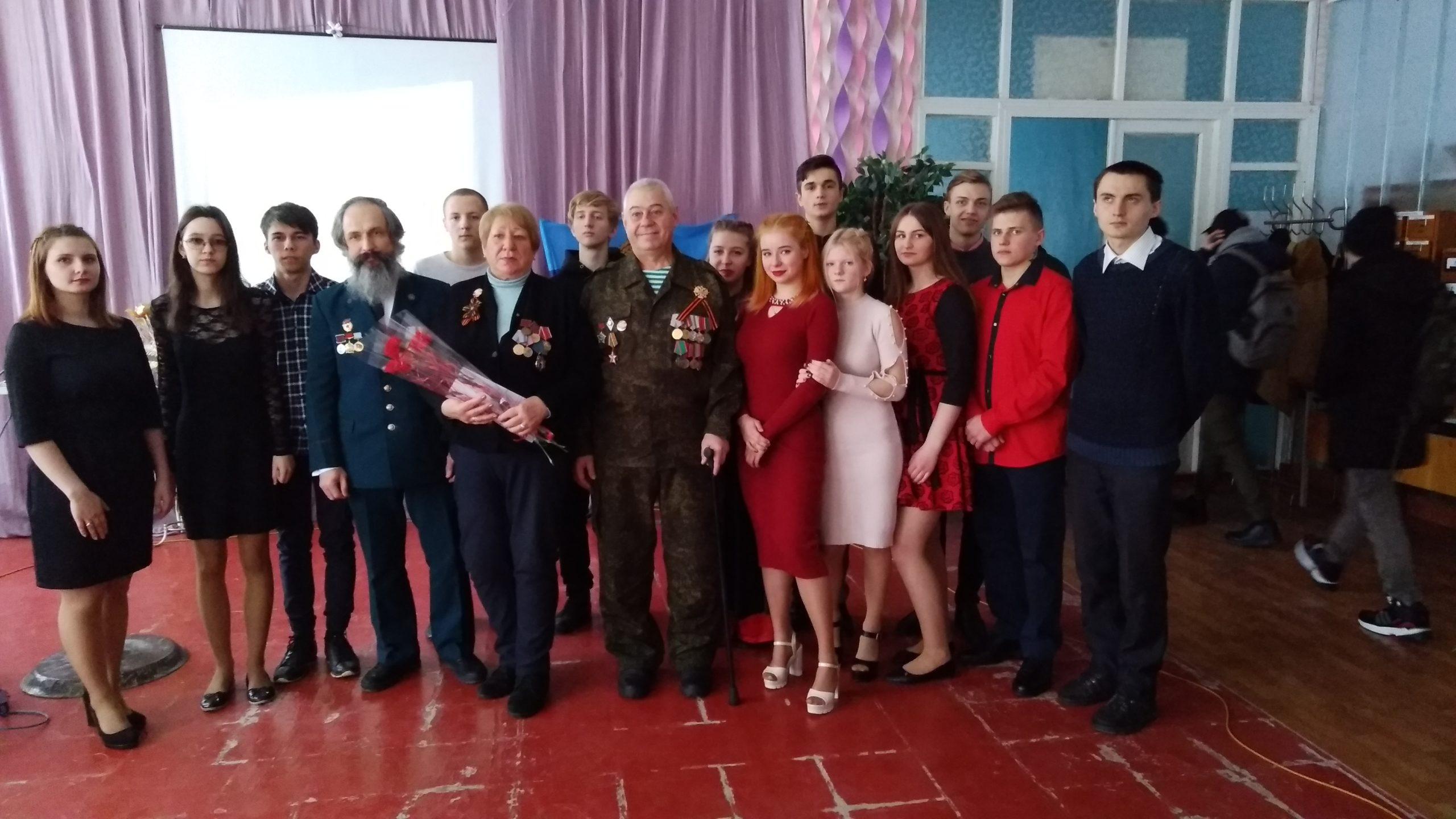 Тематический вечер «Афган прошёл по нашим душам» состоялся в Славяносербске 1