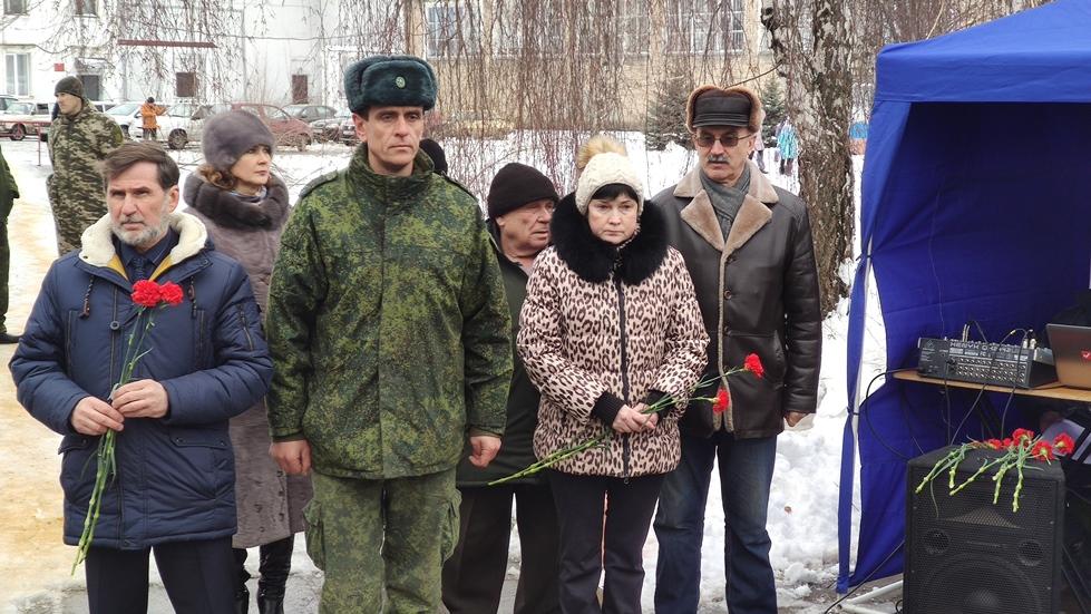 В Кировске состоялся митинг, посвященный выводу советских войск из республики Афганистан