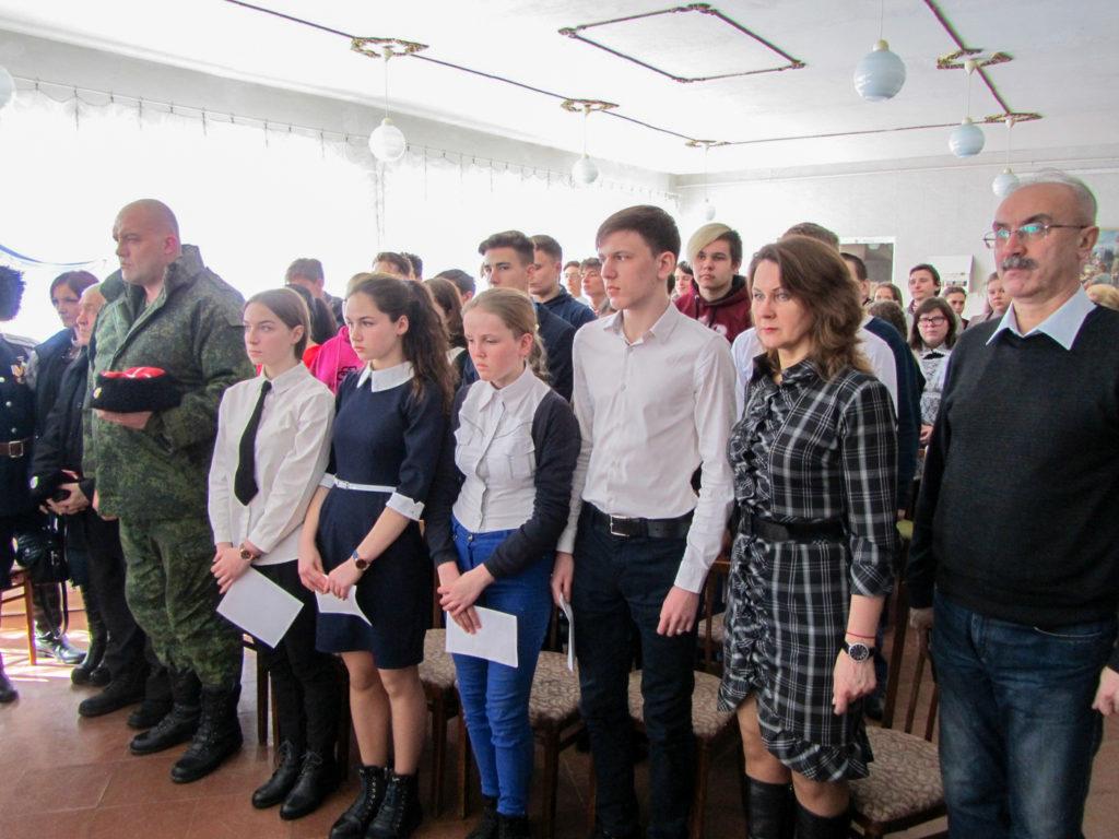 В Кировске состоялся урок мужества «Дебальцевский котёл» 2