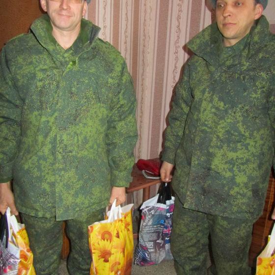 Военнослужащие ЛНР получили помощь от проекта «Волонтёр»