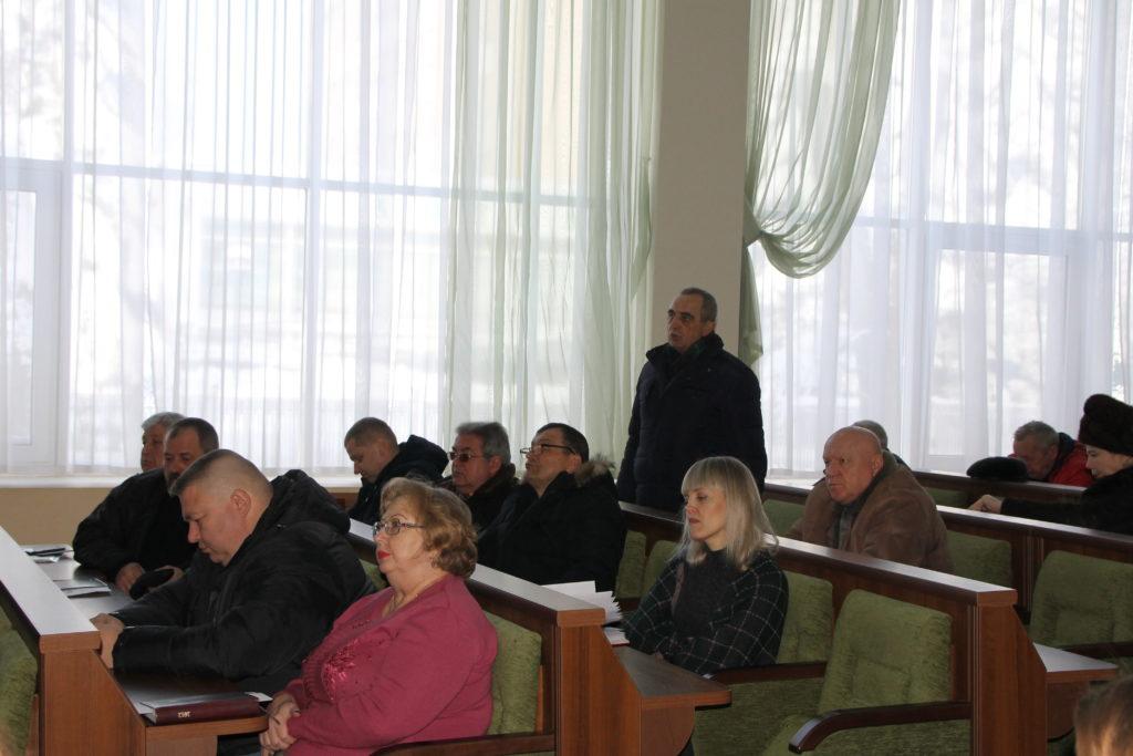 Встреча заместителя председателя теротделения с руководителями первичных отделений состоялась в Антраците 1