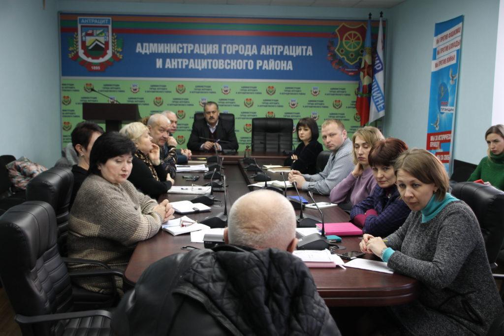 Сергей Саенко провел прием в Антраците 1