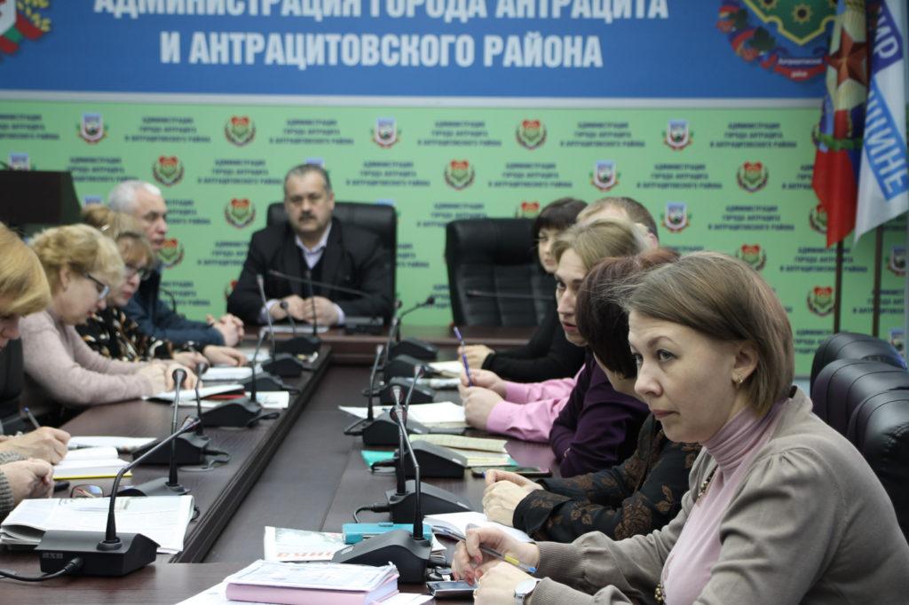 В Антраците состоялся приём главы Администрации города