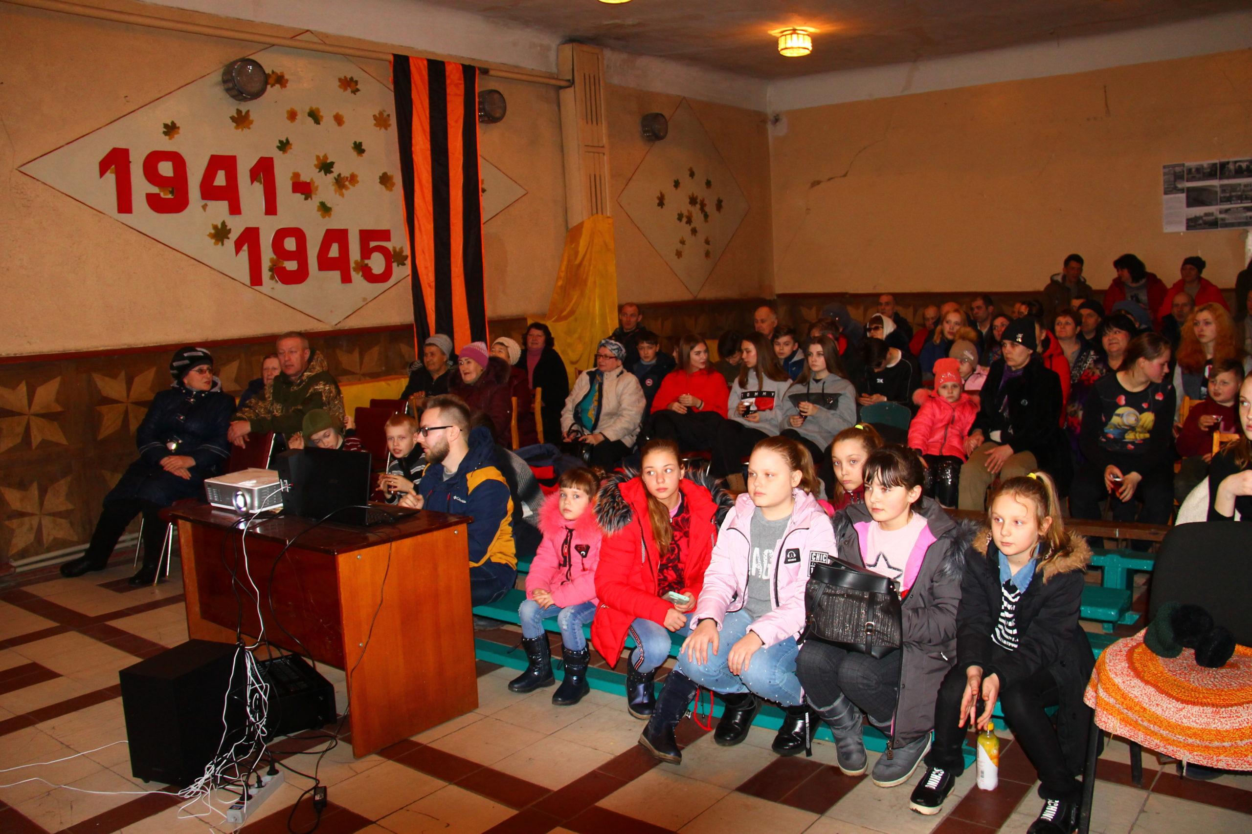 В рамках проекта «Мир кино» состоялся бесплатный показ фильма «Т-34» 3