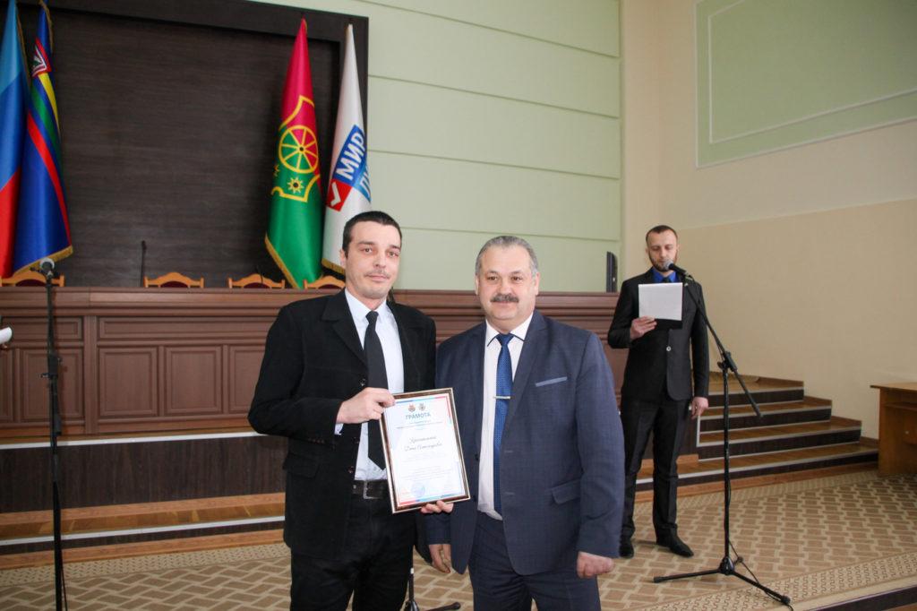 Торжественное собрание к 5-й годовщине Чернухино-Дебальцевской операции состоялось в Антраците 3